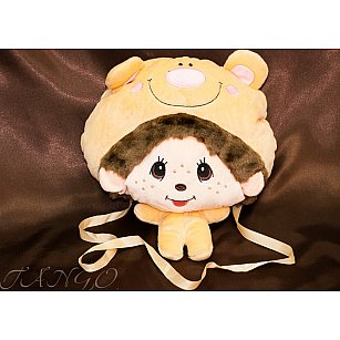 Детская подушка-муфта-сумка дизайн 02