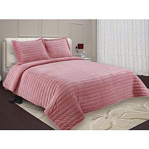Покрывало Buenas Noches Velour с наволочками, розовый, 230*250 см