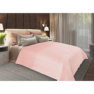 Покрывало флок Amore Mio Soft, розовый, 200*220 см