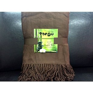 Плед Bamboo Throw №03, коричневый, 150*200 см