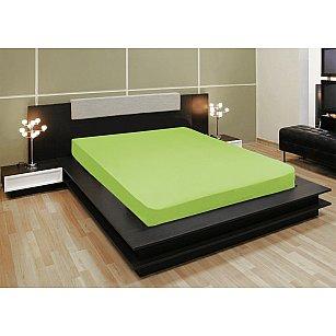 Простынь трикотажная на резинке Amore Mio Elastic AG, зеленый