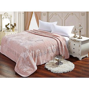 Плед Scheherazade розовый, 200*220 см