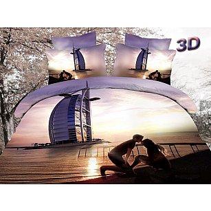 КПБ Сатин дизайн 688 (2 спальный)-A