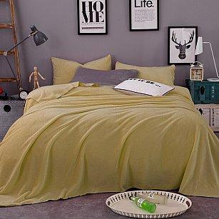 Плед фланелевый Tango Arcobaleno однотонный дизайн 16, 200*220 см