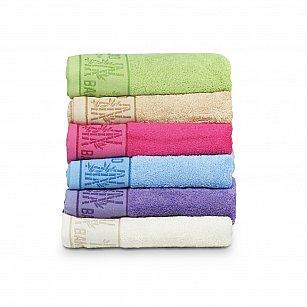 Комплект махровых полотенец El Flower Bamboo дизайн 2, 50*90 см - 6 шт