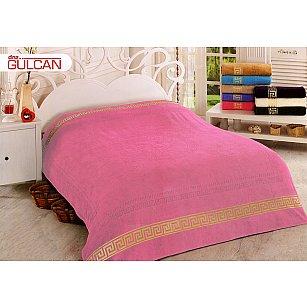 Простынь махровая Greek Cotton, розовая