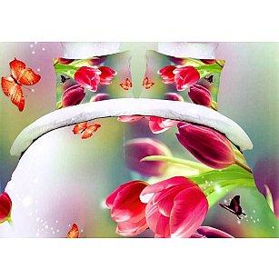 КПБ Микросатин Dream Fly дизайн Tulips