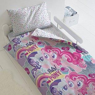 КПБ 1.5 хлопок My little Pony Neon (50х70) рис. 16029-1/16030-1 Подружки пони
