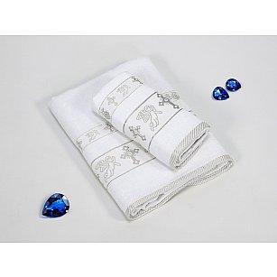 Набор из 2-х полотенец для крещения Gulcan Silver (50*90; 70*140)