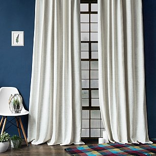 """Комплект штор с подхватами """"Моррис"""", кремовый, 140*270 см"""