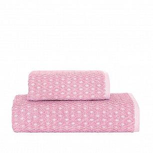 Полотенце жаккард Arya Finn, розовый