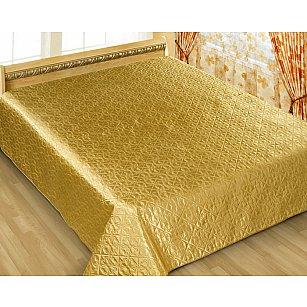Покрывало шелк Premium №7, золотой