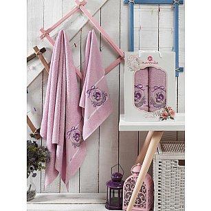 Комплект махровых полотенец Merzuka Boss дизайн 04 (50*80; 70*130)