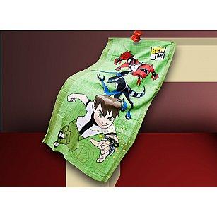 Пляжное полотенце Spongebob, 75*150 см, зеленый