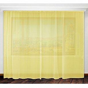 Тюль вуаль Amore Mio RR MS-109, желтый, 300*270 см