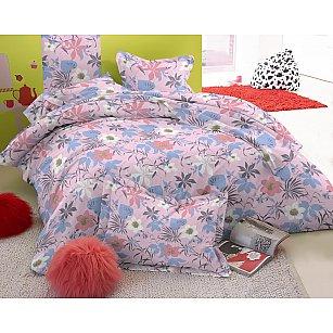 КПБ мако-сатин печатный Audor (2 спальный), многоцветный