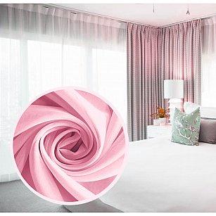 Тюль вуаль RR 2053, розовый, 300*270 см