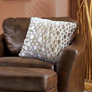 Наволочка декоративная Chinchilla Пузырьки, бежевый, 48*48 см