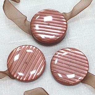 Набор магнитов M10-10 lenta, коричневый