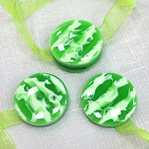 Набор магнитов M12-5 lenta, зеленый