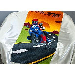 Пляжное полотенце Racing, 75*150 см, мультиколор