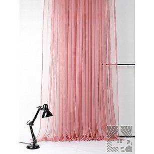 """Тюль """"Тиан (пудрово-розовый)"""", 300*280 см"""