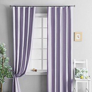 """Комплект штор """"Тафта Фиолетовый"""", 140*290 см"""