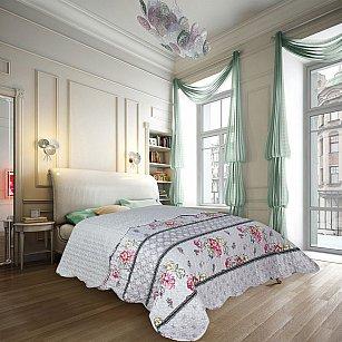 Покрывало Amore Mio Прованс Style, серый, 220*240 см