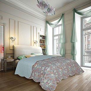 Покрывало Amore Mio Прованс Decor, серый, 220*240 см