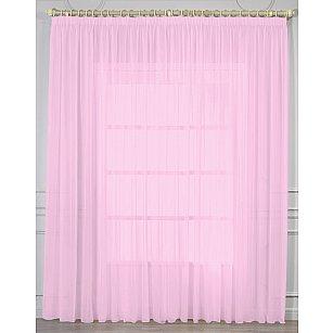Тюль вуаль RR 2053, розовый, 400*270 см