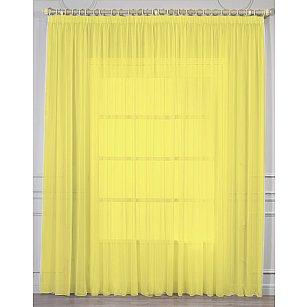 Тюль вуаль RR RS 109, желтый, 400*270 см