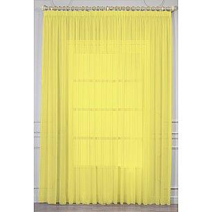 Тюль вуаль RR RS 109, желтый, 300*270 см