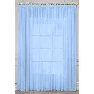 Тюль вуаль RR 2024, голубой, 300*270 см
