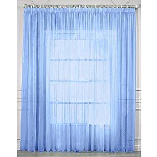Тюль вуаль RR 2024, голубой, 400*270 см