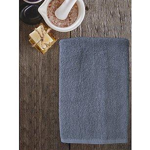 Полотенце махровое Amore Mio AST Cotton, серый