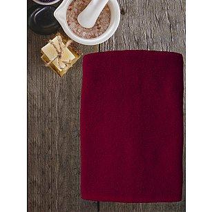 Полотенце махровое Amore Mio AST Cotton, бордовый