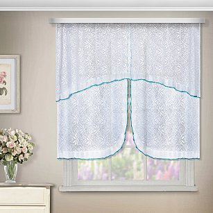 Комплект штор №88879, белый