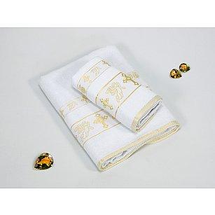 Набор из 2-х полотенец для крещения Gulcan Gold (50*90; 70*140)