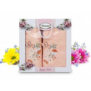 Комплект махровых полотенец Vianna Luxury Series дизайн 08 (50*90; 70*140)