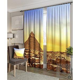 "Фотошторы ""Пустынная пирамида"""