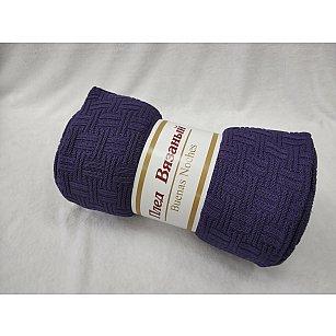 Плед вязаный Buenas Noches lta Assai, фиолетовый, 150*200 см