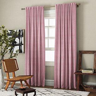 Комплект штор Ибица, розовый