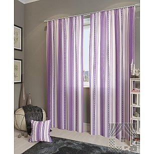 """Комплект штор """"Девон-К"""", фиолетовый, 260 см"""