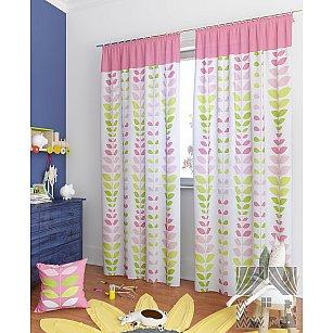 """Комплект штор """"Вейла-К"""", розовый, 260 см"""