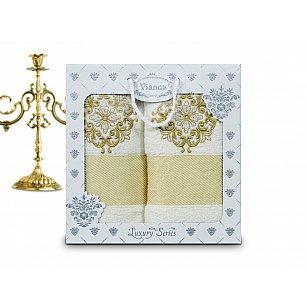 Комплект махровых полотенец Vianna Luxury Series дизайн 01 (50*90; 70*140)