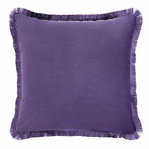 Наволочка декоративная Arya Moonlight, фиолетовый, 43*43 см