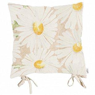 "Подушка на стул ""Лучистые ромашки"", дизайн P805-8943-2, 41*41 см"
