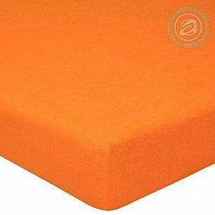 """Простынь махровая на резинке """"Апельсин"""", 60*120 см"""