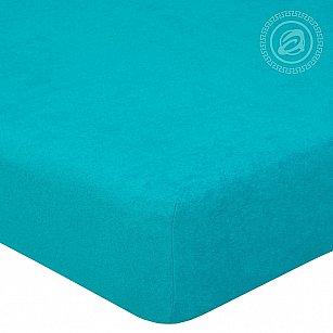 """Простынь махровая на резинке """"Незабудка"""", арт. 271, 90*120 см-A"""