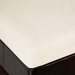 """Простынь трикотажная на резинке """"Сливки"""", арт. 253, 140*200 см-A"""